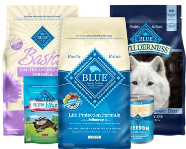 $5.00 off 1 bag of Blue Buffalo Dog Food Coupon