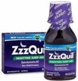 ZzzQuil Product