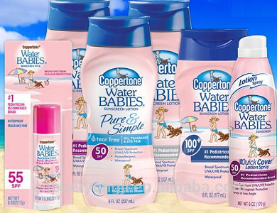 Coppertone WaterBABIES Products1