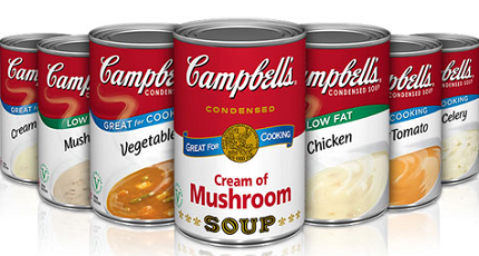 Campbells Condensed Soup Products