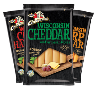 Frigo Cheese Heads Wisconsin Cheeses