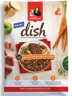 Rachael Ray Nutrish Dish Dog Food Product