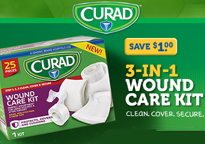 3 New Curad Bandages And Tape Product Coupons Hunt4freebies