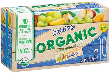 Capri Sun Organic Juice Drink