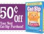 Cat Sip Coupon