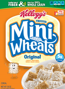 Kelloggs Frosted Mini-Wheats Cereals