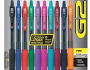 Pilot Pen G2 Gel Ink 10 pack