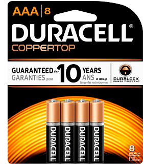 picture regarding Duracell Battery Coupons Printable referred to as $1.00 off Duracell Coppertop or Quantum Batteries Coupon