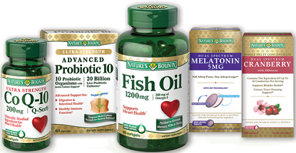 graphic relating to Nature's Bounty Coupon Printable $5 referred to as $1.00 off Natures Bounty Vitamin or Nutritional supplement Discount codes