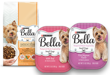 photograph regarding Dog Food Coupons Printable known as Clean Purina Bella Canine Meals Discount coupons - Hunt4Freebies