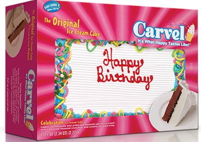 photo regarding Carvel Coupon Printable known as $4.00 off Ice Product Cake 46 oz. or more substantial (which include Carvel