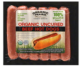 Organic Prairie Hot Dogs
