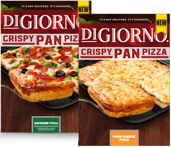 photograph regarding Digiorno Coupons Printable known as $2.00 off Any DIGIORNO Crispy Pan Pizza Coupon - Hunt4Freebies