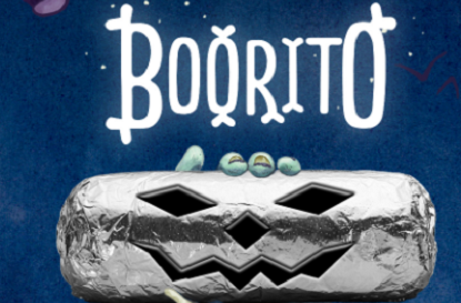 Chipotle: $3 Boorito, Bowl, Salad, or Order of Tacos on Halloween ...