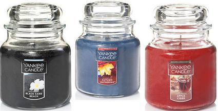 Yankee Candle: FREE Medium Jar Candle w/ $20 Purchase Coupon
