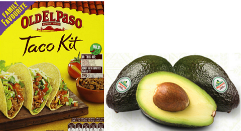 1 00 Off Old El Paso Dinner Kits Tortillas Or Taco Shells And 2 Avocados From Mexico Coupon Hunt4freebies