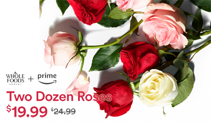 image about Whole Foods Printable Coupons named 2-Dozen Entire Exchange Roses for $19.99 at Complete Food Market place