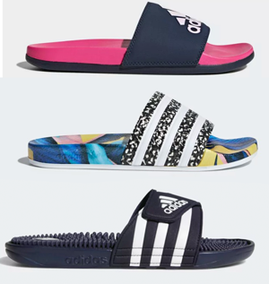 50% off Adidas Slide Sandals and FREE