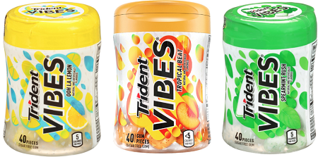 photo about Trident Coupons Printable named $1 off TRIDENT VIBES Gum Coupon - Hunt4Freebies