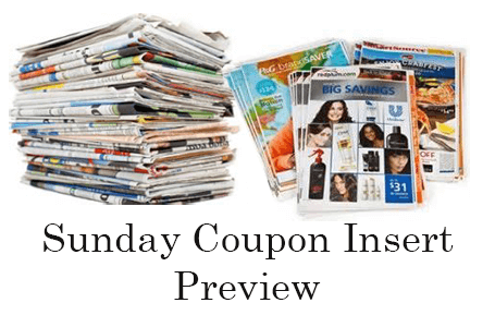 photo regarding Biofreeze Coupons Printable named Sundays Coupon Inserts Preview for August 4, 2019