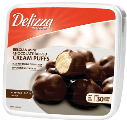 2 Off Delizza Mini Eclairs Cream Puffs Or Mousse Coupon Hunt4freebies