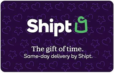 1-Year Shipt Same-Day Grocery Delivery Membership + $50 Target GC